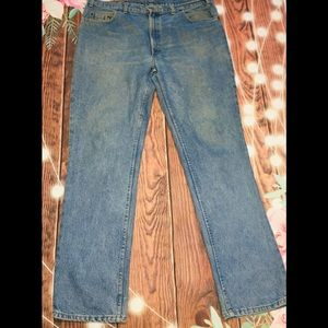 Men's levis 516 Relaxed Fit Jeans size 40 x 34